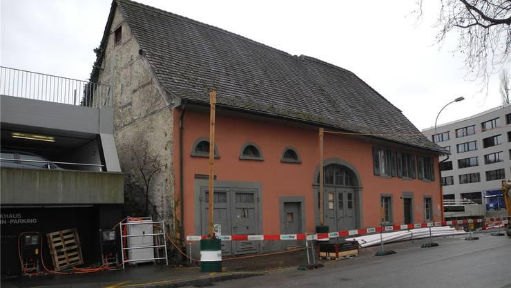 Die Rheinfelder Stimmbürger lehnen eine Sanierung des Roten Hauses ab.