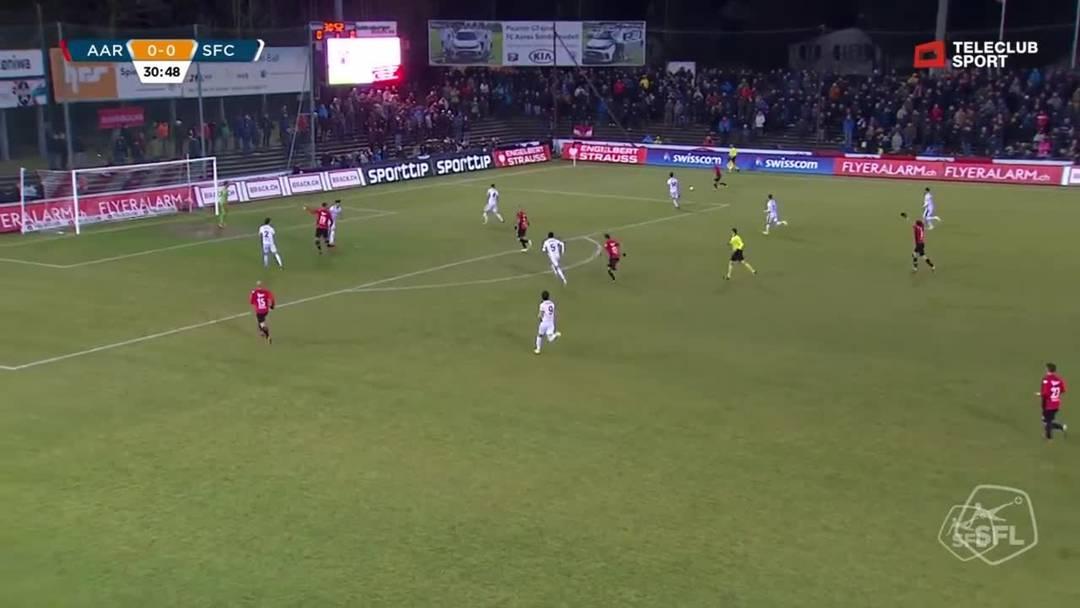 Challenge League 18/19 Runde 23: FC Aarau - Servette FC 1.3.19 - 1:0 FC Aarau