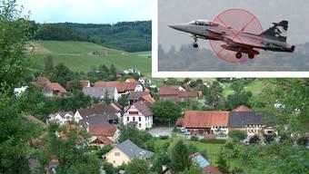 Elfingen wehrte sich am stärksten gegen die Beschaffung neuer Kampfjets. 61,98 Prozent betrug der dortige Nein-Anteil.
