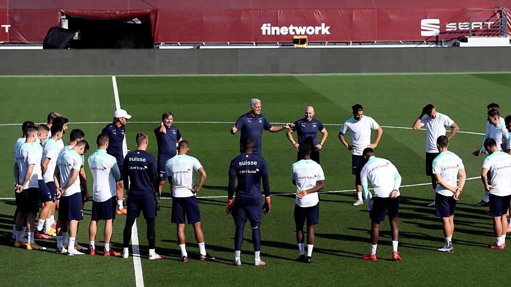 Die Schweizer Nationalmannschaft steht in Madrid gegen Spanien unter Zugzwang