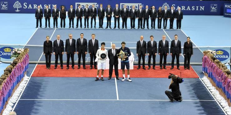 Für Federer ist es der 68. Turniersieg im 98. Final auf der ATP-Tour, aber erst der zweite Titel in diesem Jahr.