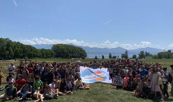 450 Jugendliche versammeln sich seit Montag am Genfersee.