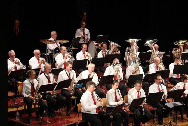 Die Harmonie Turgi Gebenstorf sorgt für Musikgenuss vom Feinsten.