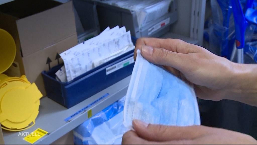 Coronavirus-Angst: Im Spital gehen die Maskendiebe um