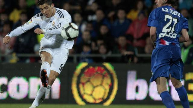 Cristiano Ronaldo liess auch gegen Getafe seine Klasse aufblitzen
