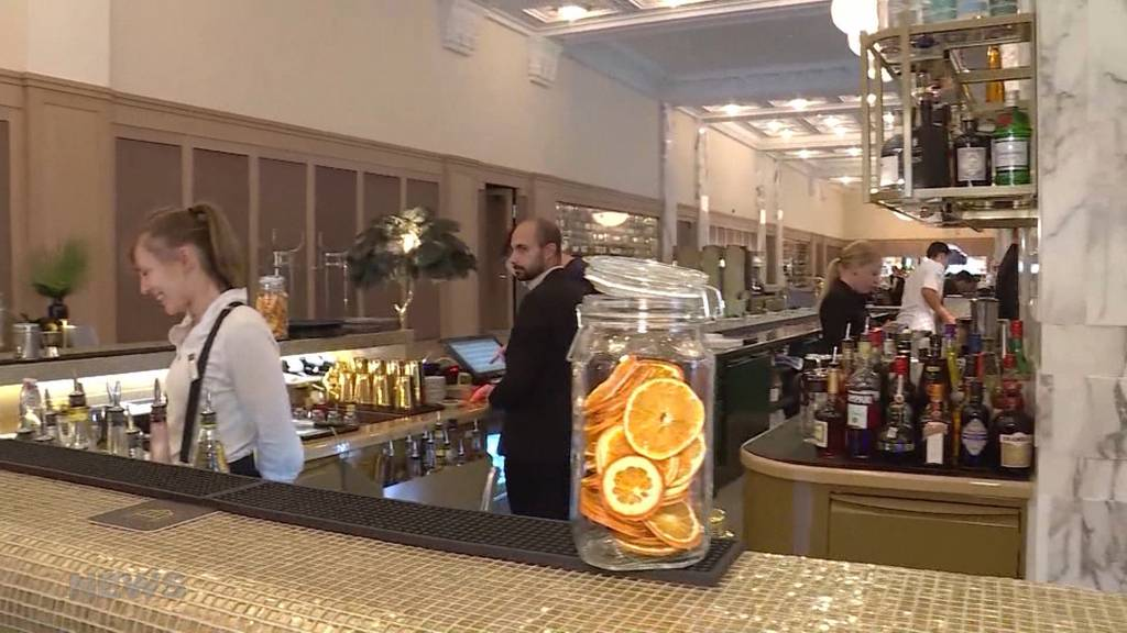 Feierliche Neueröffnung des Casino Bern