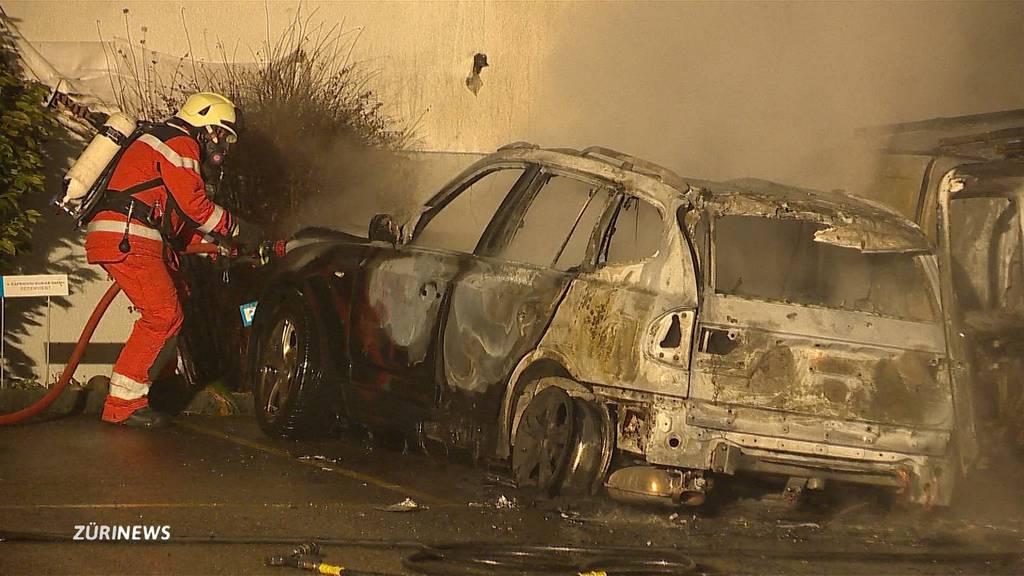 Brandserie im Limmattal: Polizei vermutet Brandstiftung