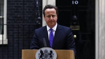 Cameron betont gemeinsames Ziel zu Syrien (Archiv)