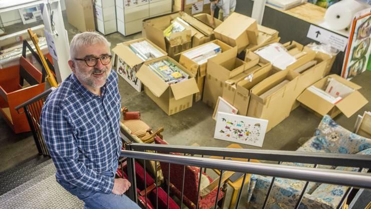 Peter Lukas Meier, Initiant des Kunst-Supermarkts Solothurn