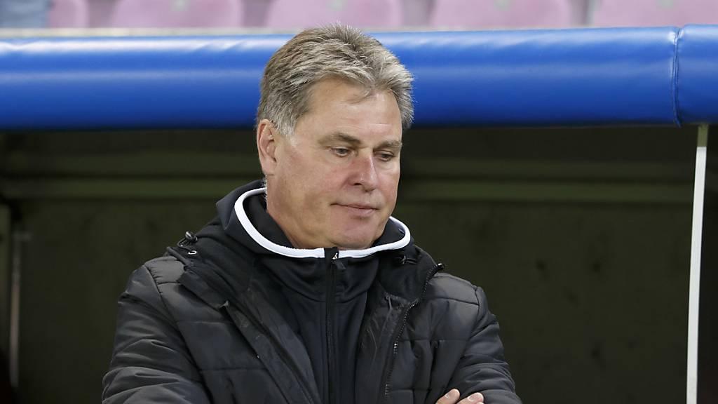 Enttäuschung: So hat sich Ralf Loose den Wiedereinstieg in die Challenge-League-Saison mit Winterthur nicht vorgestellt.