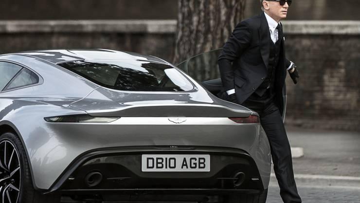"""""""Bond""""-Darsteller Daniel Craig spielt unter der Regie von Steven Soderbergh im Gauner-Streifen """"Logen Lucky"""" mit. (Archivbild)"""