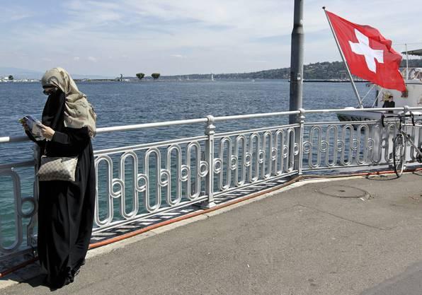 Weden Burkas in der Schweiz demnächst verboten?