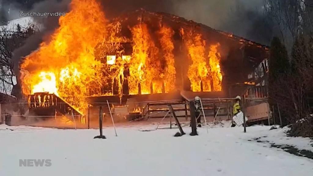 Anklage wegen Tötung und Brandstiftung in Frutigen