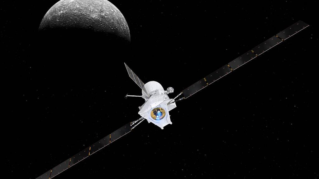 Raumsonde «BepiColombo» steht vor erstem Rendezvous mit Merkur