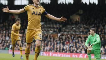 Harry Kane war von Fulham nicht zu stoppen