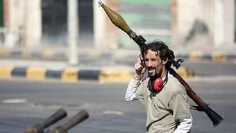 Ein libyscher Rebell (Archiv)