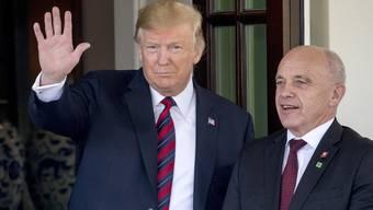 Ueli Maurer besucht Donald Trump (16.05.19)