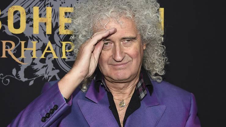 Hat seinen ersten Solo-Song nach 20 Jahren einer Nasa-Raumsonde gewidmet: Queen-Gitarrist Brian May. (Archivbild)