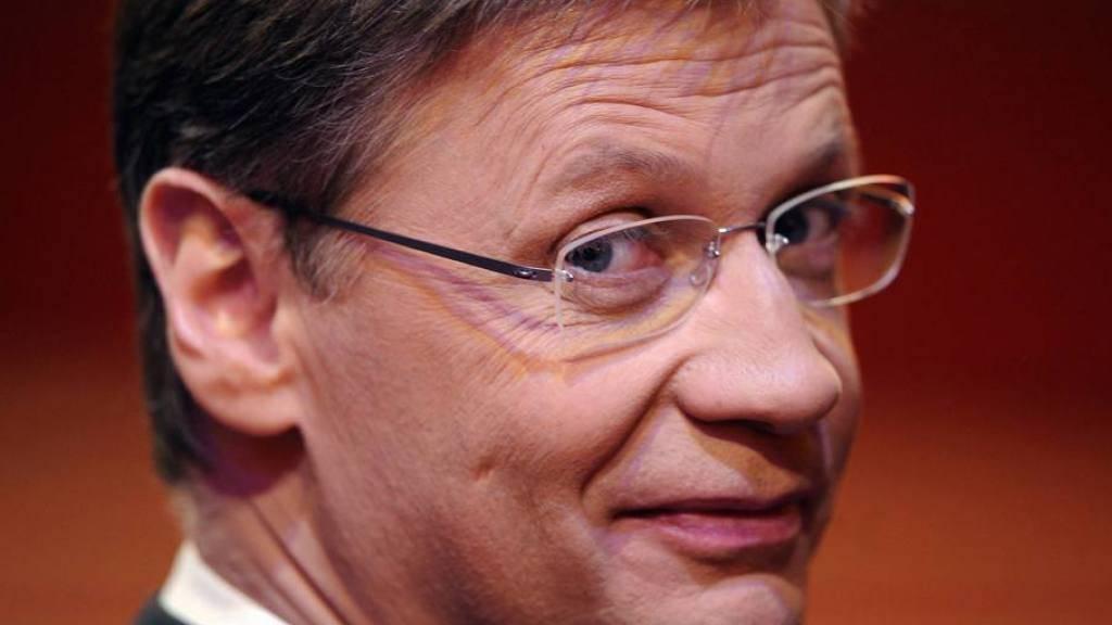 """""""Kein Experte"""" aber ein Weinproduzent mit Ambitionen: Moderator Günther Jauch will künftig mehr Zeit auf seinem Gut verbringen (Archiv)"""