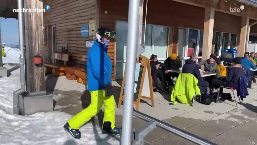 Offene Terassen in Schwyzer Skigebieten