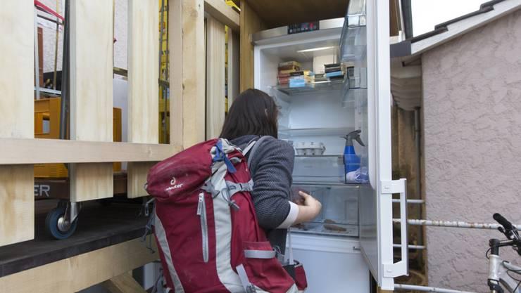 Gemeinschaftskühlschränke sind in. Sie sind ein Mittel gegen Foodwaste. (Archivbild)