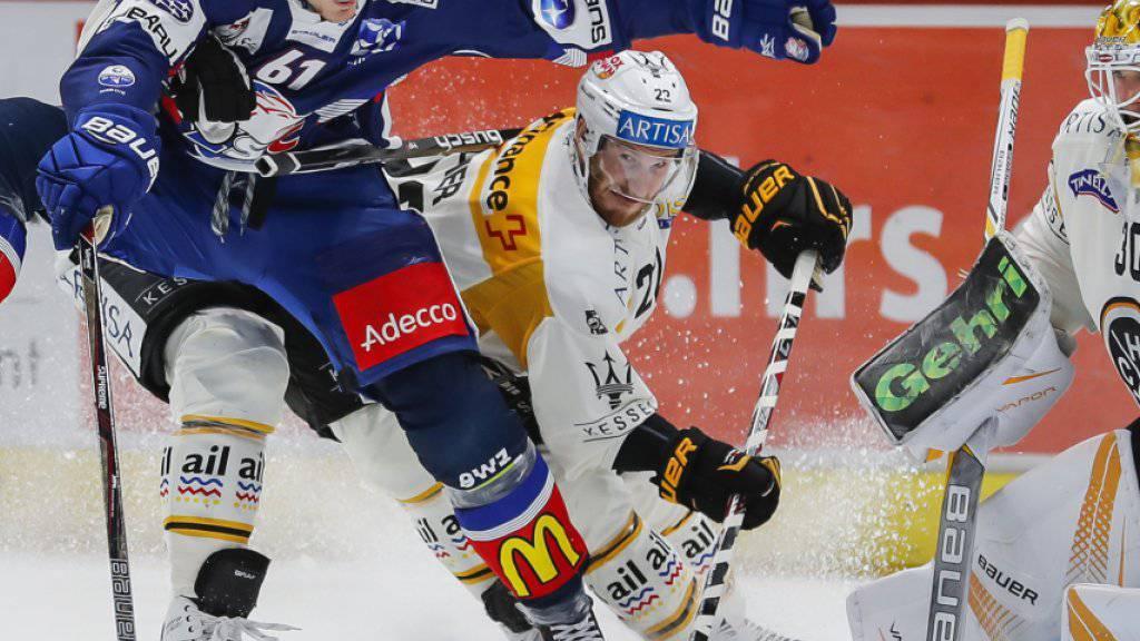 Lugano und die ZSC Lions werden sich im Playoff-Final keinen Zentimeter schenken