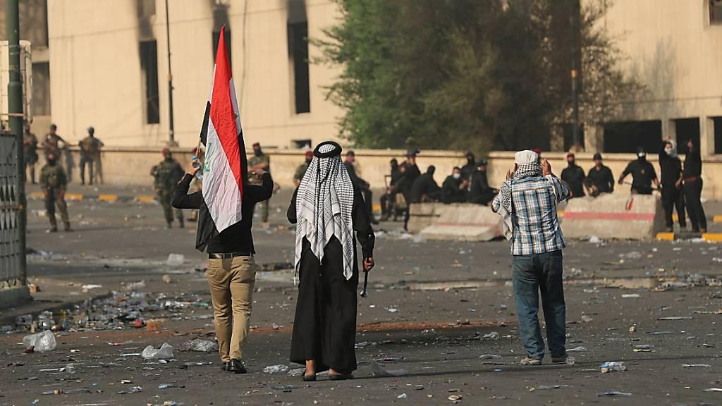 Opferzahl bei gewaltsamen Protesten im Irak steigt auf 28