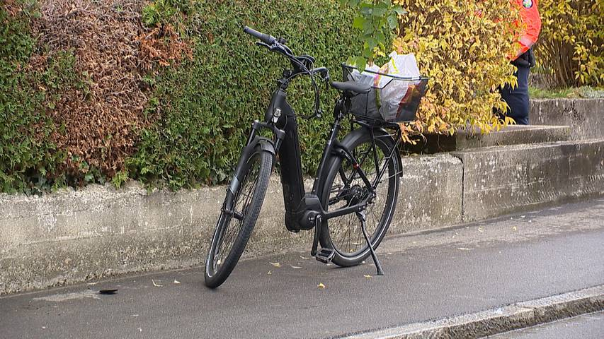Thurgau: E-Bike-Fahrer kollidiert mit Lastwagen