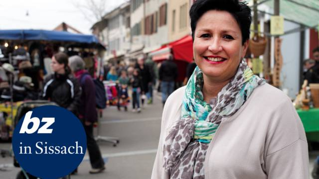 Gesi-Präsidentin Daniela Schneeberger: «Die ‹Mega 2015› wird wieder in der Sissacher Begegnungszone stattfinden.»