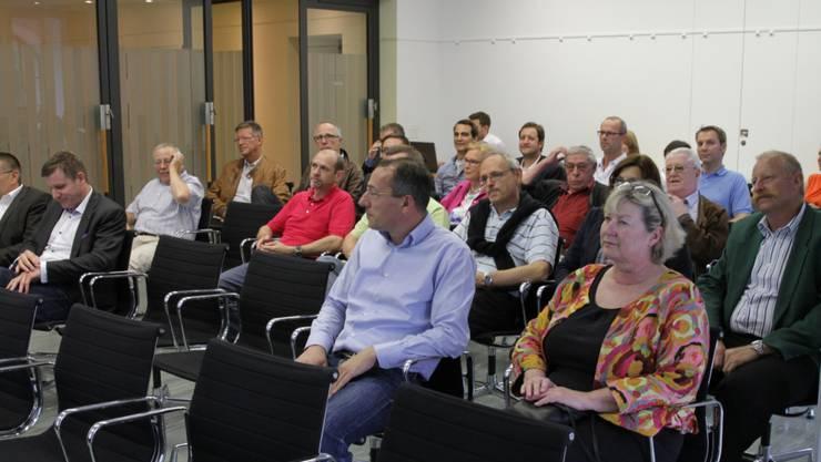 Nominationsversammlung CVP Baden 04. Juli
