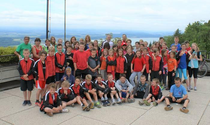 Wir haben im Jahr 2013 unser Jugendsportlager mit dem ETF in Biel verbunden. Dieses Foto ist in Magglingen entstanden.