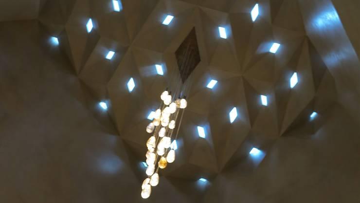 Die «Kuppel» erfuhr eine besondere Gestaltung. Das Tageslicht fällt durch Nischen in den Hauptraum.