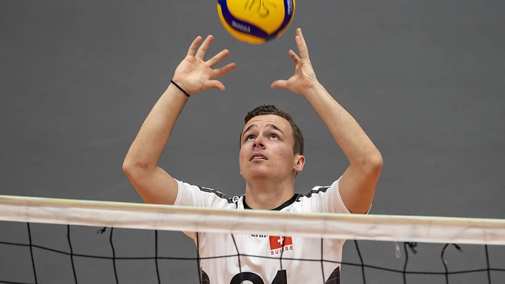 Schweizer Volleyballer wahren EM-Chancen