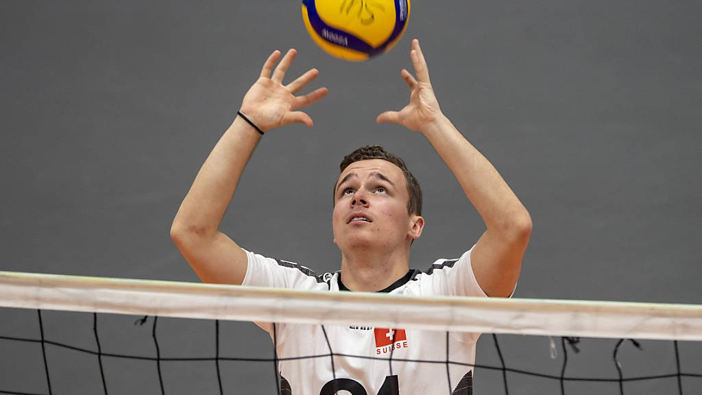 Ramon Diem und die Schweizer Volleyballer sind in der EM-Qualifikation auf einem guten Kurs