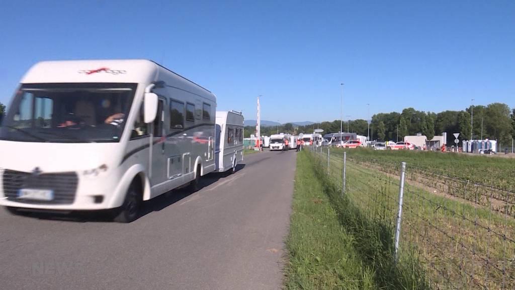 Fahrende werden von Wileroltigen nach Gampelen verschoben