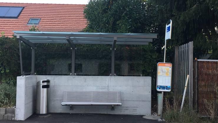 Eine Bushaltestelle mit Dach und Bank wie hier in der Bromegg: Das schätzen Senioren.
