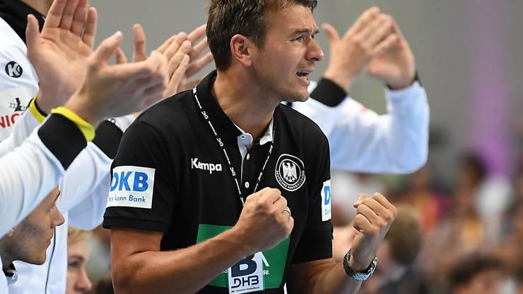 Bundestrainer Christian Prokop will auch in Kroatien jubeln