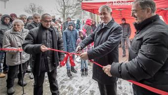 Menziken: Nach zehn Monaten Bauzeit wurde das Hallenbad am Samstag feierlich eingeweiht