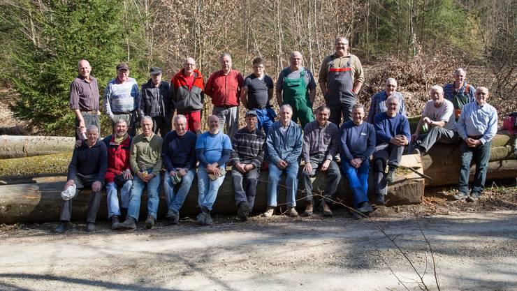 Die Männerriege Endingen im Holz