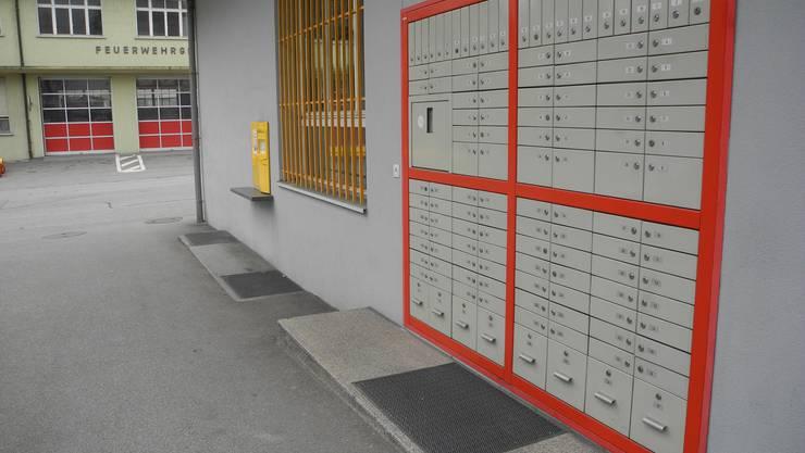 Die Postfachanlage der Schmelzipost wird per 1. Juni aufgehoben.