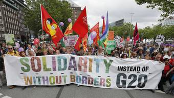 G20-Proteste am Samstag (08.07.2017)