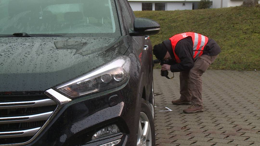 Parkplatz-Unfall in Schaffhausen: Zwei Kinder teilweise schwer verletzt