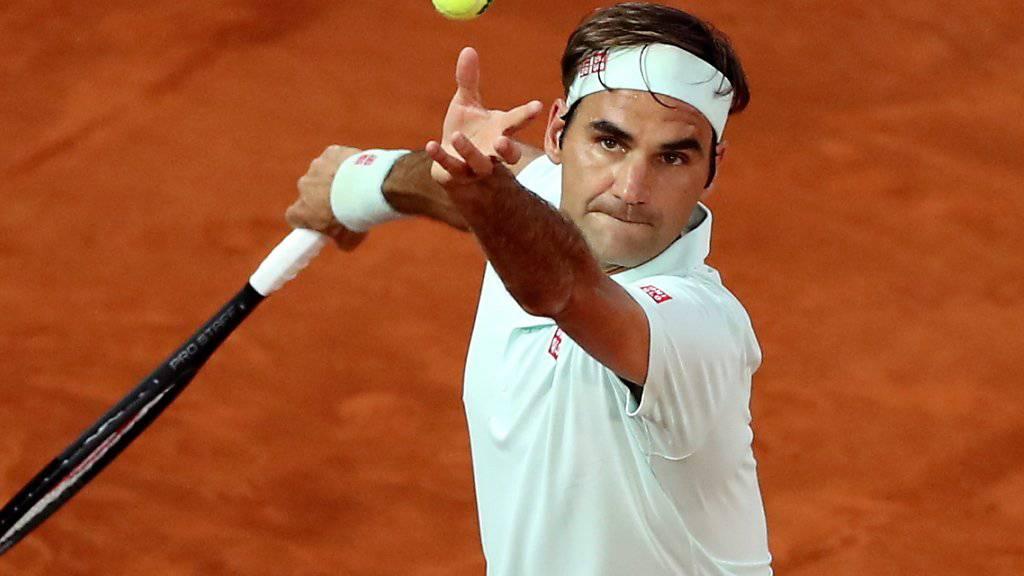 Roger Federer wird auch beim Masters-1000-Turnier in Rom auf Sand zu sehen sein