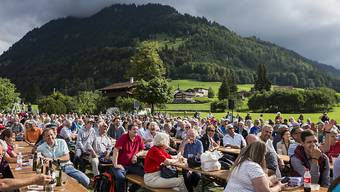 Einer der Höhepunkte des 600-Jahr-Jubiläums war die Gedenkfeier am 19. August 2017 in Flüeli-Ranft
