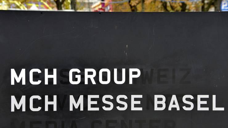 Die Messe Schweiz, auch MCH Group, auf dem Messeplatz.