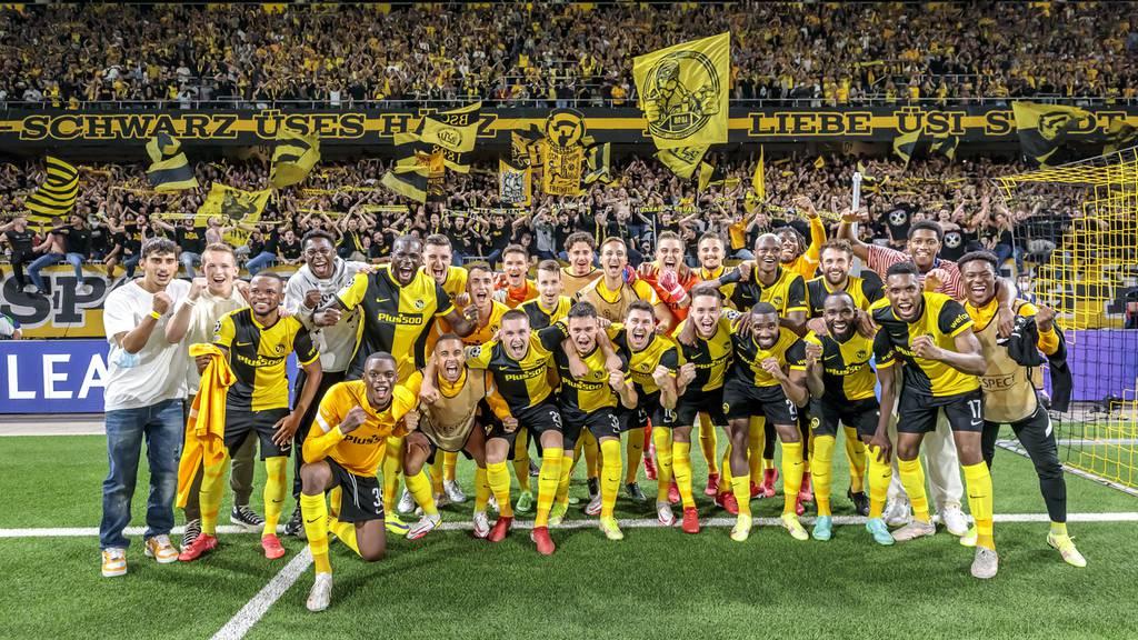 Der sensationelle YB-Sieg gegen das grosse Manchester United in Bildern