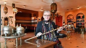 Jeannette Lerch verkauft auch Antiquitäten: «Hier bin ich nie alleine, sondern umgeben von den Künstlern, die diese Stücke angefertigt haben.»