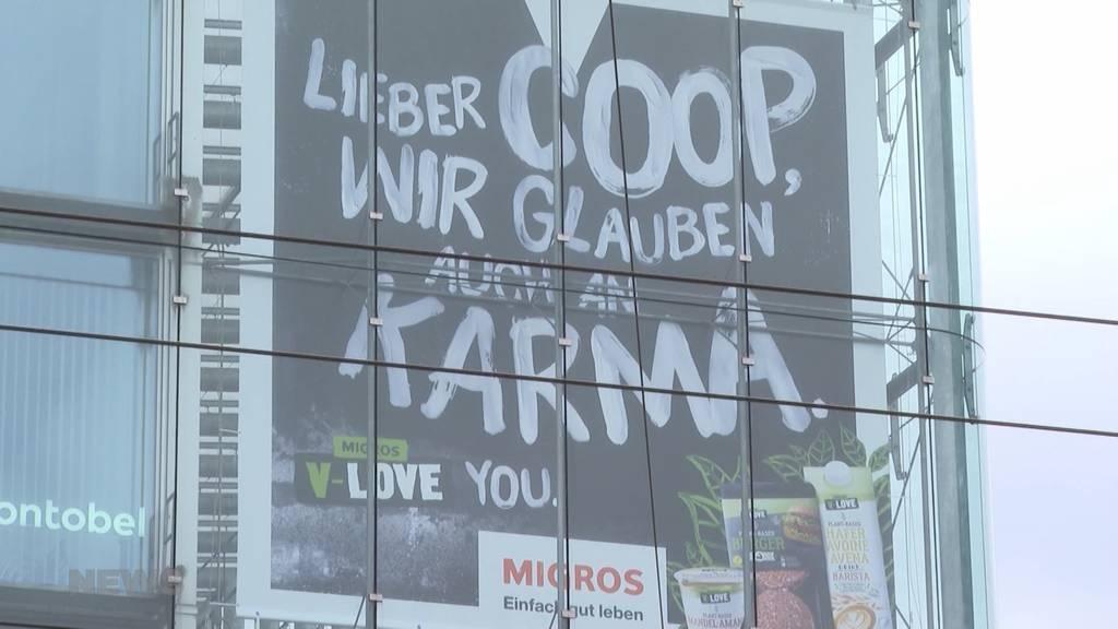 Neue Werbestrategie: Die Migros spricht ihren Konkurrenten Coop direkt an