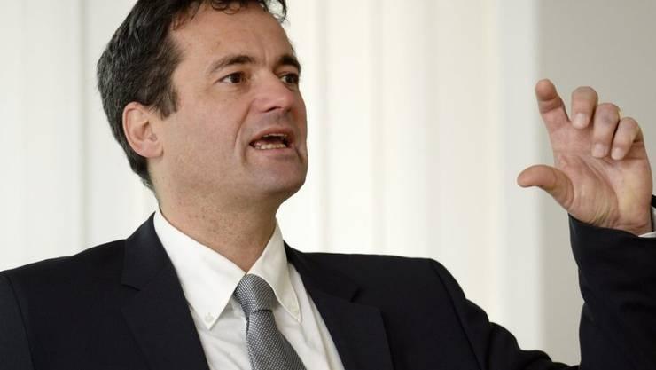 """""""Die Wertschöpfung im Exportsektor steigt wieder"""", sagt Rudolf Minsch, Chefökonom der Economiesuisse. (Archiv)"""