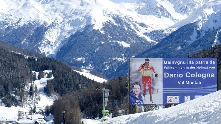 Das Val Müstair (im Hintergrund Tschierv) ist stolz auf seinen Botschafter – und will den Schwung mithilfe der Tour de Ski nutzen.Karin Hofer/NZZ